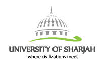 university of sharjah uos logo